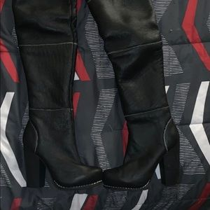 Jeffery Campbell Thigh high boots